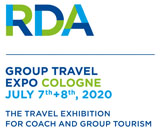 Logo RDA Group Travel Expo in Cologne